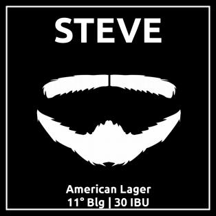 Etykieta piwa Steve